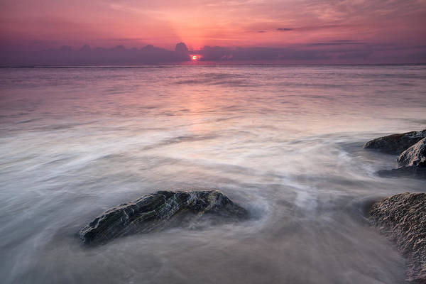 Art Print featuring the photograph Wavy Day by Jon Glaser