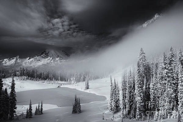 Winter Print featuring the photograph Winter Storm Clears by Mike Dawson
