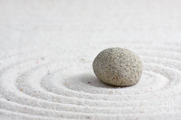 Abstract Print featuring the sculpture Zen Garden by Shawn Hempel