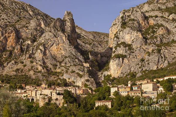 Alpes Print featuring the photograph Moustier-sainte-marie by Brian Jannsen