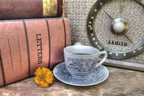 Tea Print featuring the photograph Tea Time by Jane Linders