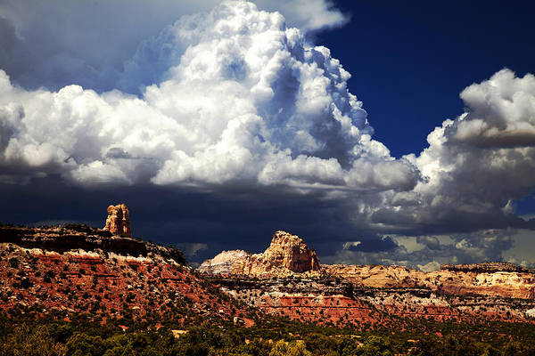 Southern Utah Print featuring the photograph San Rafael Swell by Mark Smith