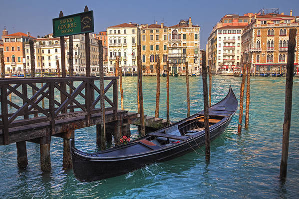 Architecture Print featuring the photograph Venice - Italy by Joana Kruse