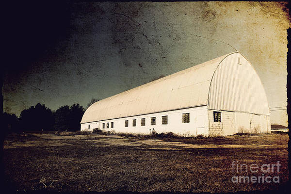 Barn Print featuring the photograph Appleton Barn by Joel Witmeyer