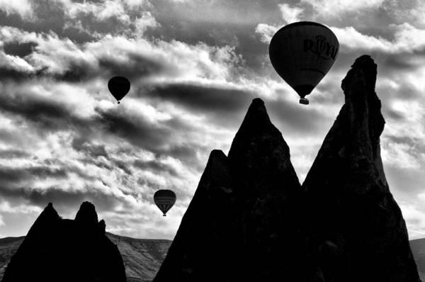 Ballons Print featuring the photograph Ballons - 2 by Okan YILMAZ