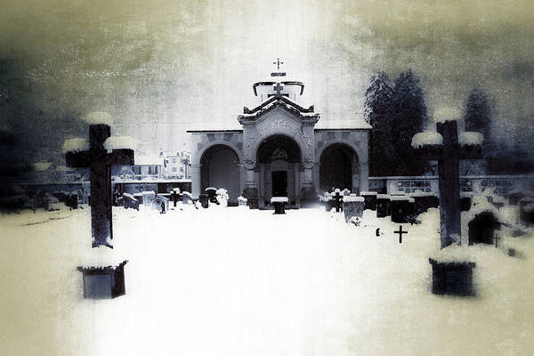 Cemetery Print featuring the photograph Cemetery by Joana Kruse