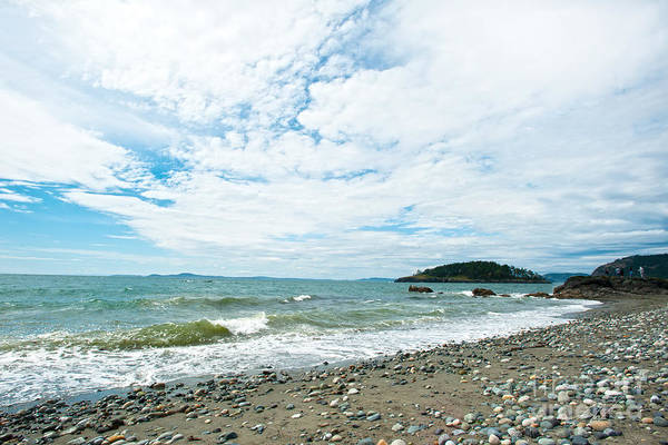 Rocky West Coast Beach Shore Print featuring the photograph Constant by Artist and Photographer Laura Wrede