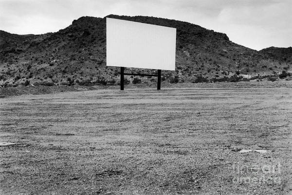 Drive In Movie Print featuring the photograph Drive In Movie Theater by Homer Sykes