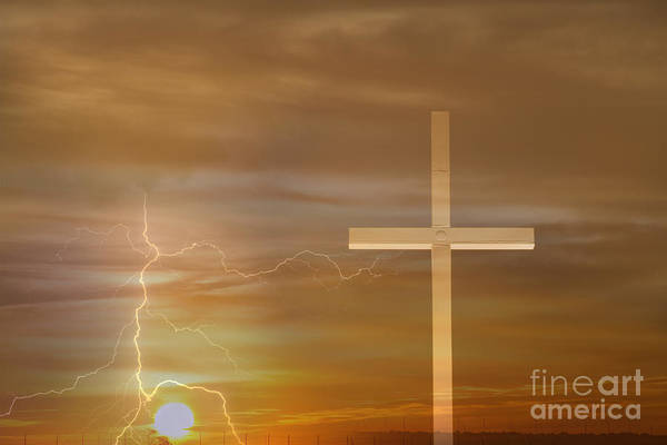 Easter Print featuring the photograph Easter Sunrise by James BO Insogna