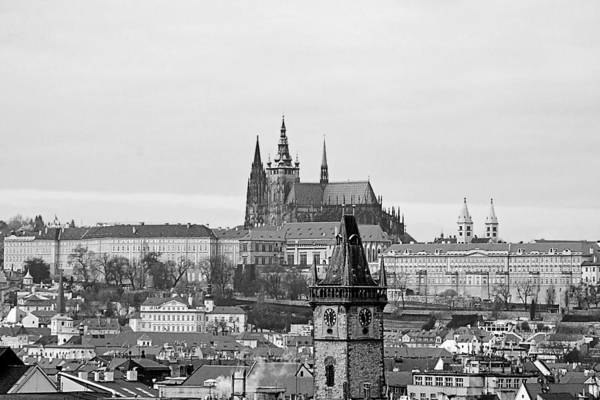 Prague Print featuring the photograph Prague - City Of A Hundred Spires by Christine Till
