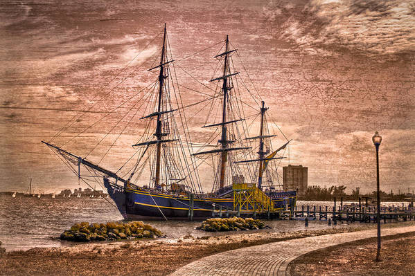 Boats Print featuring the photograph The Bounty by Debra and Dave Vanderlaan
