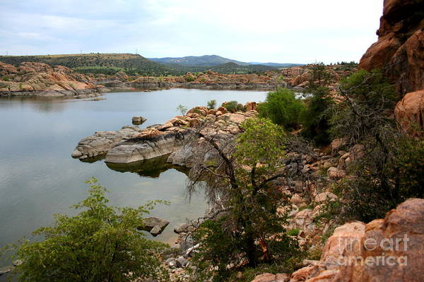 Prescott Print featuring the photograph Watson Lake 2 by Julie Lueders