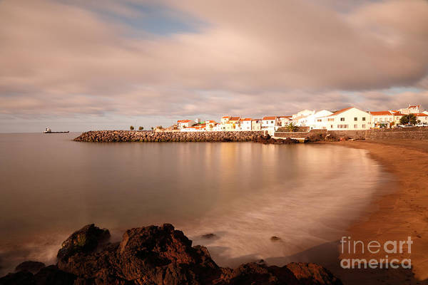 Seascape Print featuring the photograph Sao Roque At Sunrise by Gaspar Avila