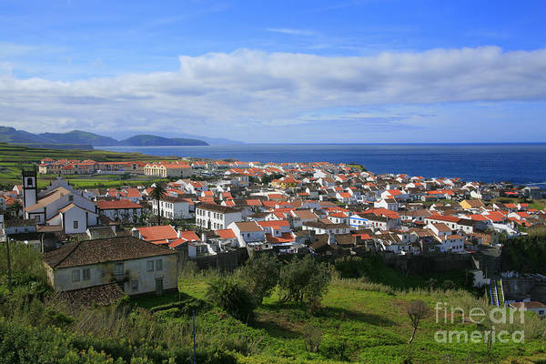 Azores Islands Print featuring the photograph Maia - Azores Islands by Gaspar Avila