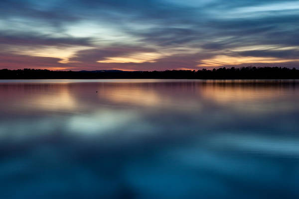 Arkansas Print featuring the photograph Blue Skies Of Reflection by Jonas Wingfield
