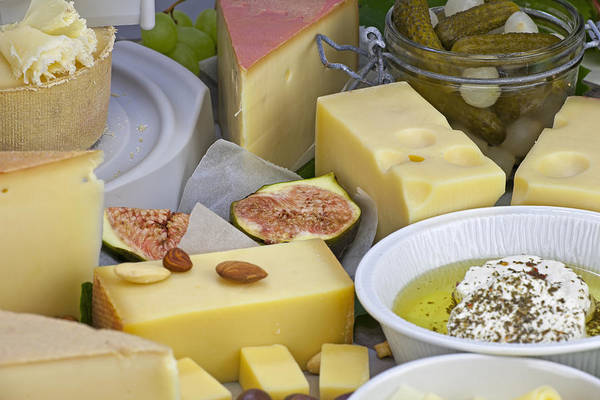 Cheese Print featuring the photograph Cheese Plate by Joana Kruse