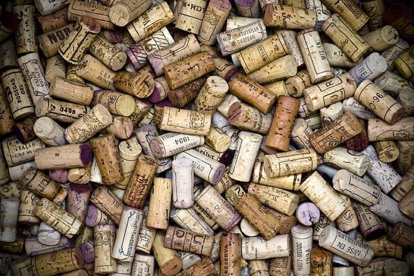 Frank Tschakert Print featuring the photograph Fine Wine Corks by Frank Tschakert