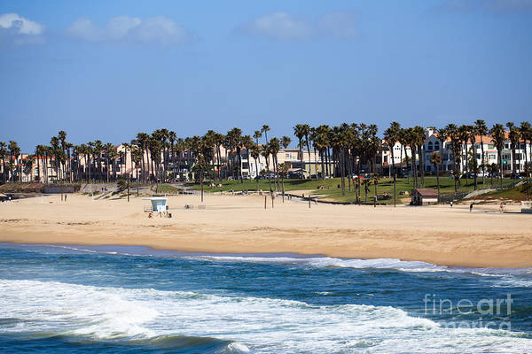 America Print featuring the photograph Huntington Beach California by Paul Velgos