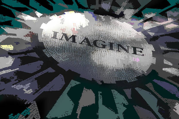 Imagine Print featuring the photograph Imagine by Kelley King