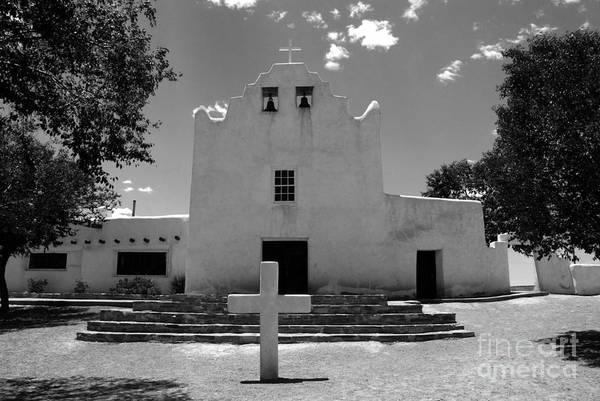 Mission San Jose Print featuring the photograph Mission San Jose by David Lee Thompson