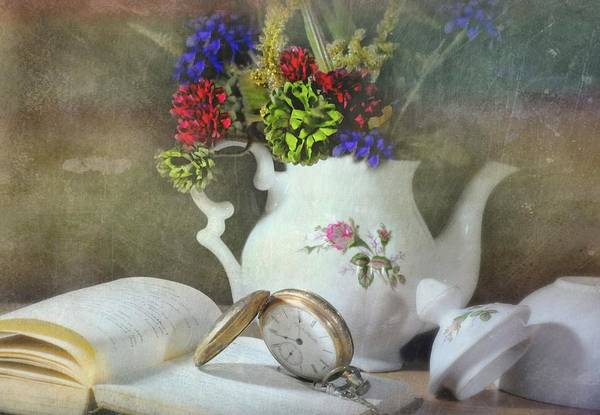 Still Life Print featuring the photograph Time In A Pocket by Diana Angstadt