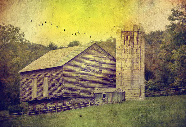 Barn Print featuring the photograph The Establishment by Kathy Jennings