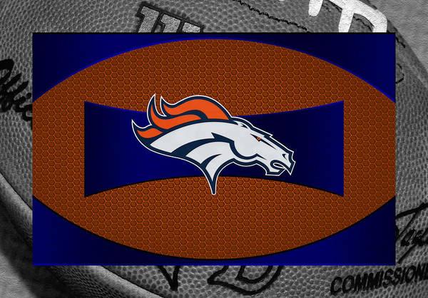 Broncos Print featuring the photograph Denver Broncos by Joe Hamilton