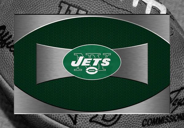 Jets Print featuring the photograph New York Jets by Joe Hamilton