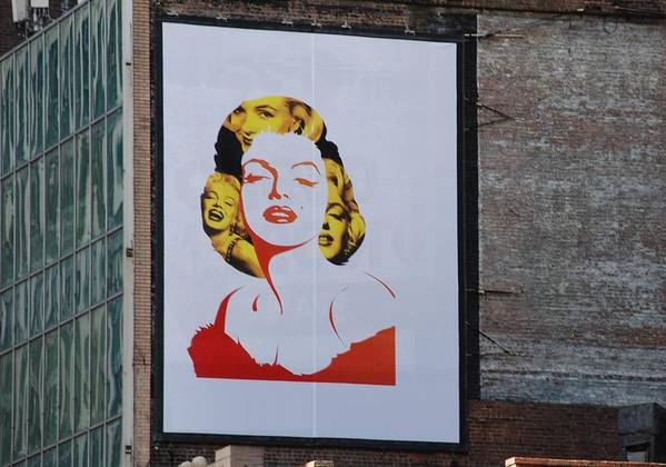 Marilyn Monroe Print featuring the photograph Marilyn Monroe by Rob Hans