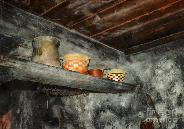 Photo Print featuring the photograph Above The Stove by Jutta Maria Pusl