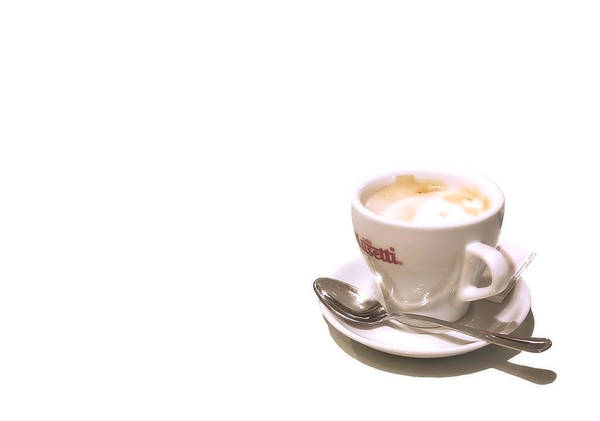 Coffee Print featuring the photograph Cream And Sugar by Evelina Kremsdorf
