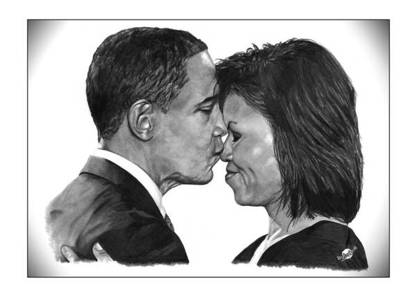 President Print featuring the drawing First Order Of Business by Brian Wylie