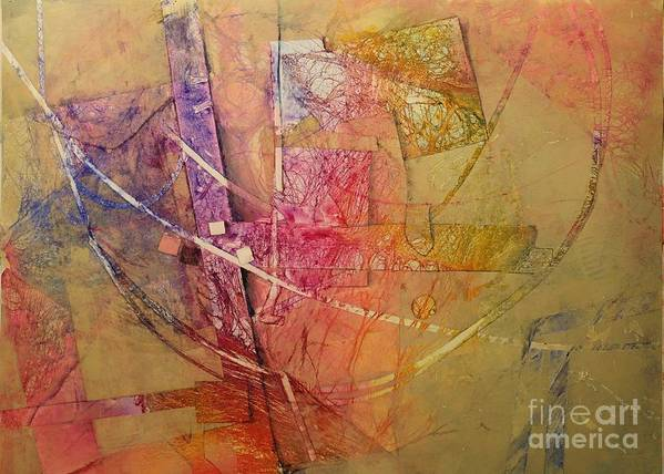 Print featuring the painting Symphony I by Elizabeth Carr