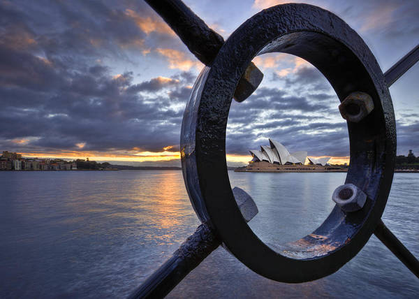Sydney Opera House Print featuring the photograph Taking Centre Stage by Renee Doyle