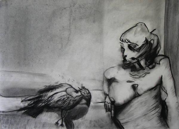 Bird Print featuring the photograph Bird Drama by Brad Wilson