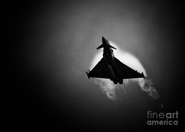 Royal Print featuring the photograph Eurofighter Typhoon by Rastislav Margus