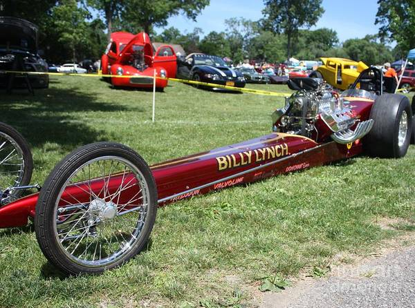 1967 Billy Lynchs Top Fuel Dragster Print featuring the photograph 1967 Billy Lynch's Top Fuel Dragster by John Telfer