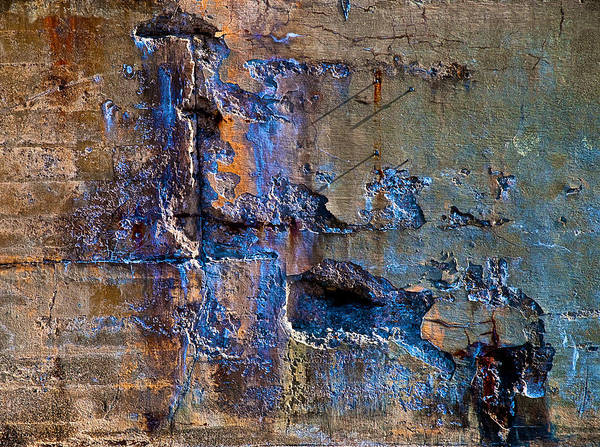 Industrial Print featuring the photograph Foundation Seven by Bob Orsillo