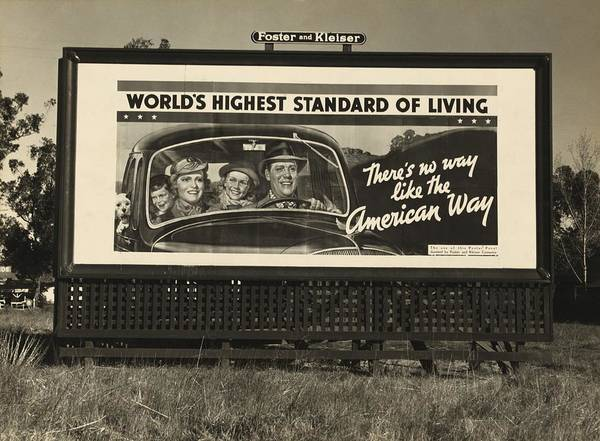 History Print featuring the photograph National Association Of Manufacturers by Everett