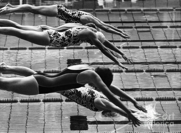 1972 Print featuring the photograph Olympic Games, 1972 by Granger