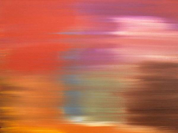 Abstract Print featuring the painting Abstract 261 by Patrick J Murphy