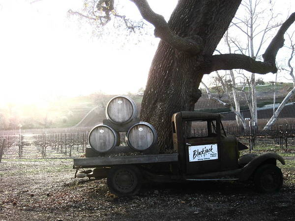 Winery Print featuring the photograph Bygone Era by Paul Foutz