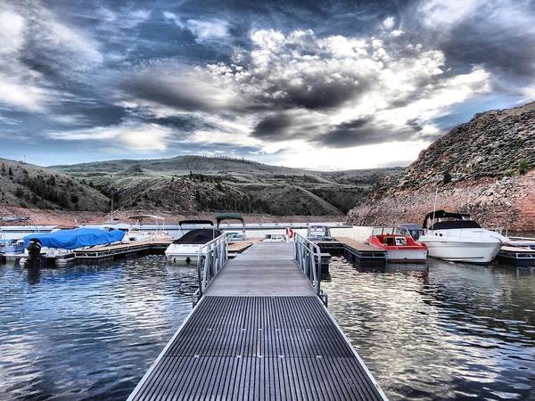 Colorado Print featuring the photograph Colorado Boating by Dan Sproul