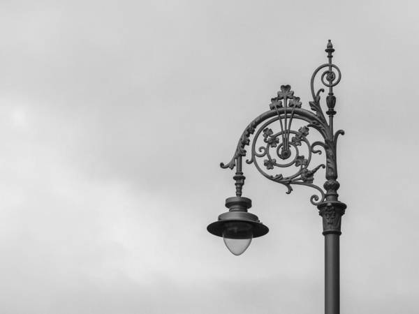 Daysray Photography Print featuring the photograph Irish Street Light by Fran Riley