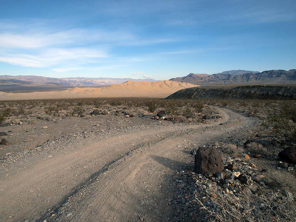 Death Valley Print featuring the photograph Morning On Steele Pass by Joe Schofield