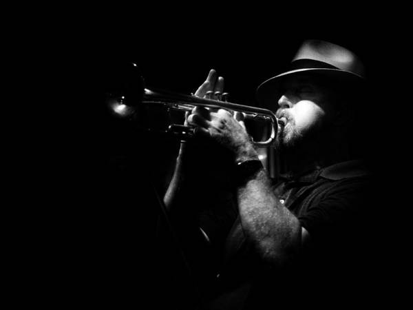 Jazz Print featuring the photograph New Orleans Jazz by Brenda Bryant