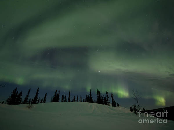 Skies Print featuring the photograph Night Lights by Priska Wettstein