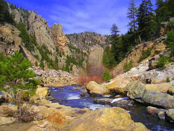 Colorado Print featuring the photograph Poudre Canyon by Bob Beardsley
