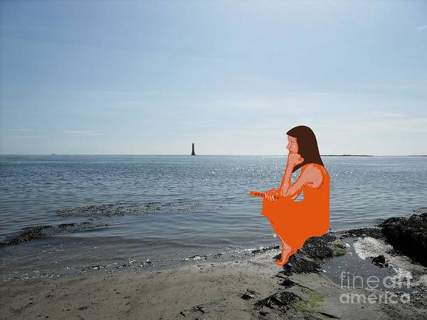 Shore Print featuring the photograph Tin Whistle 3 by Patrick J Murphy