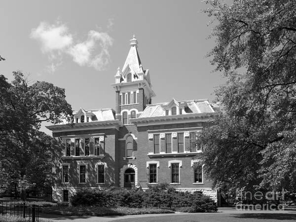 Aau Print featuring the photograph Vanderbilt University Benson Hall by University Icons